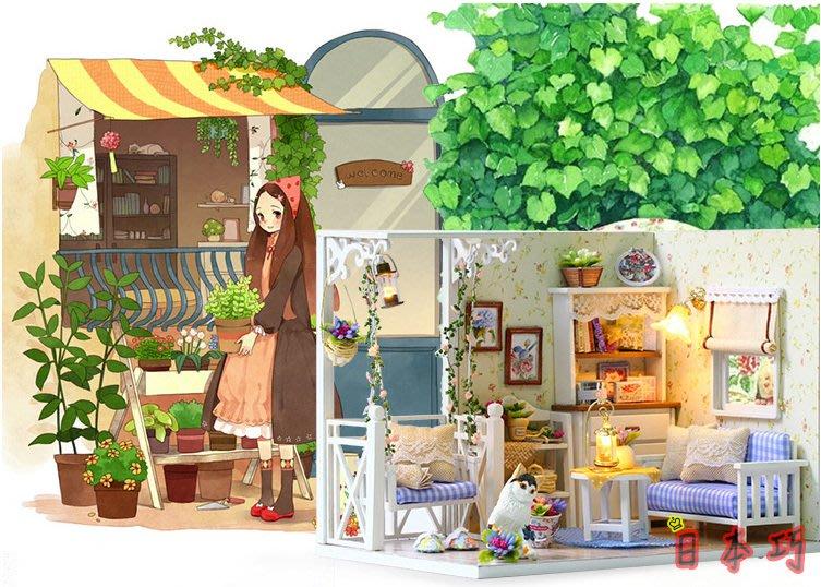 【南部總代理】小貓日記 聖誕優惠 DIY小屋 袖珍屋 娃娃屋 模型屋 材料包 玩具娃娃住屋 手做工藝 拼裝房子禮物
