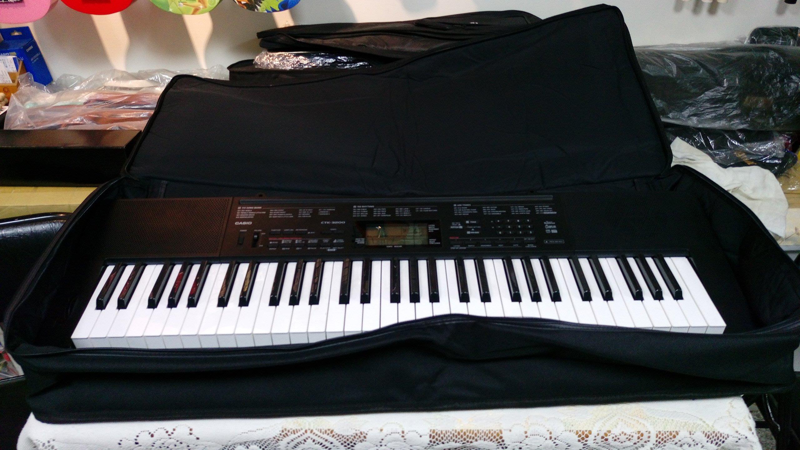 ((( 大高雄樂器 ))) 61鍵電子琴袋 (YAMAHA CASIO 各廠牌適用)