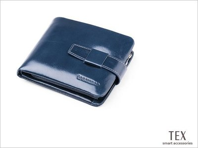 TEX 三摺油蠟皮零錢袋多功短夾 皮包 皮夾 錢包 Q391 真皮  牛皮