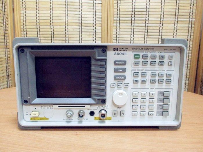 康榮科技二手儀器領導廠商HP 8594E OPT: 041/0B0/140 Spectrum Analyzer頻譜分析儀