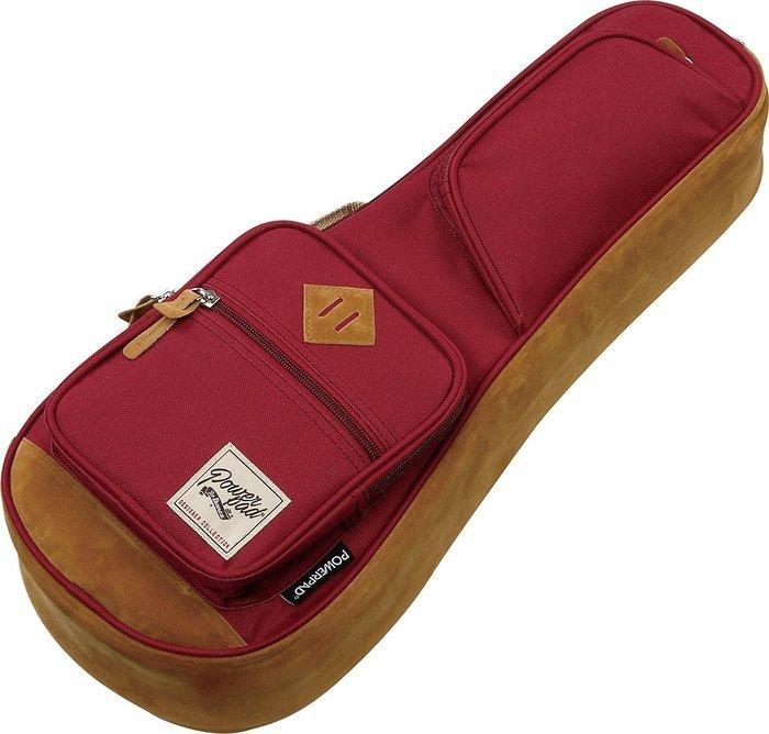 《小山烏克麗麗》Ibanez POWERPAD 原廠 21吋 烏克麗麗袋 琴袋 15mm厚 單背帶 紅 IUBS541