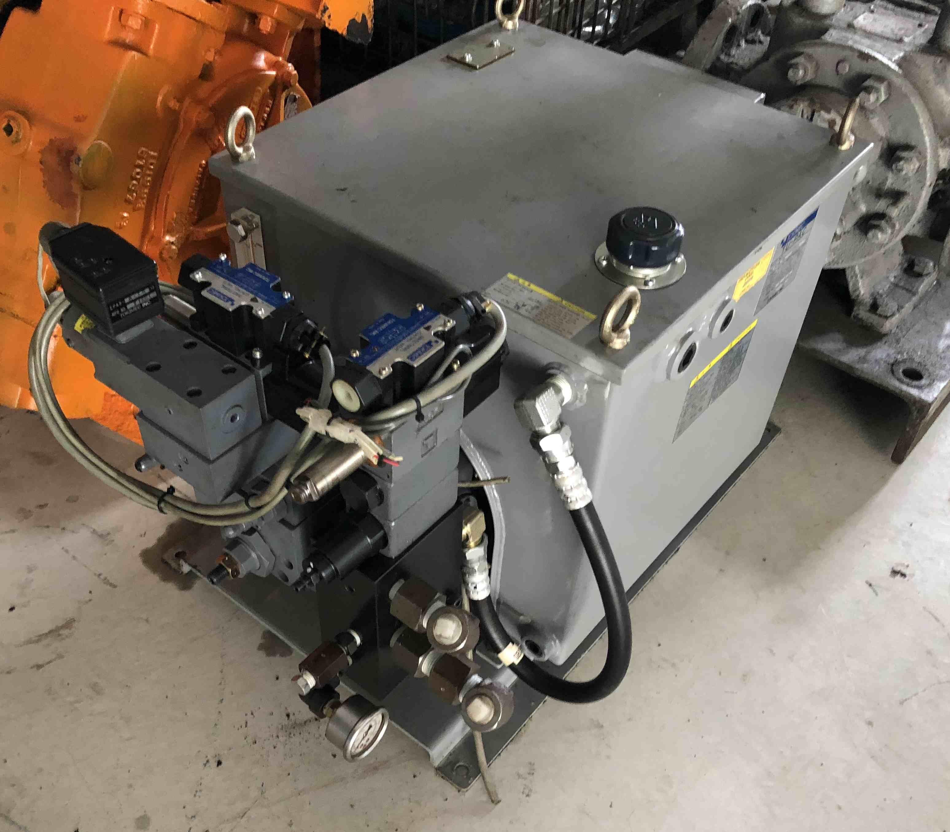 日本TOKIMEC TU-PAC(防音形油箱) 高壓電動油壓幫浦 2.2KW 220V 水電工程、船舶用途