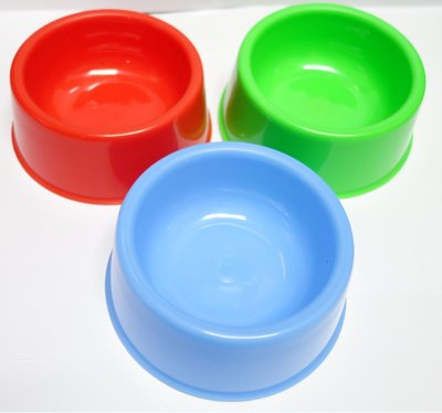 【優比寵物】Crown實用寵物碗NO.265/狗碗/(S)寬14公分、高5.5公分-優惠價-台灣製造