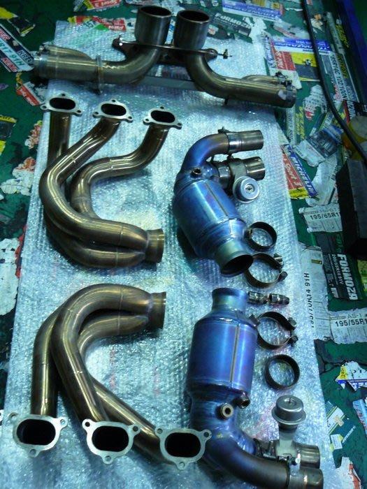 PORSCHE 997 GT3 保險桿 正GT3 前保桿 997GT3 保時捷 正廠 尾翼 排氣管 避震器 GT3下巴