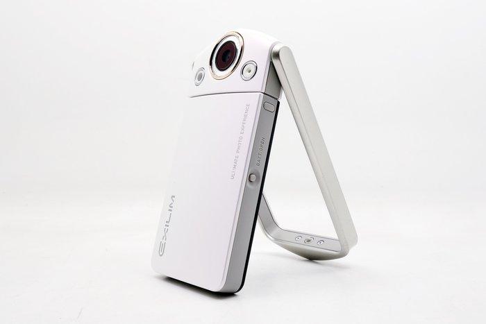 【台中青蘋果】Casio TR35 TR-35 白 二手 自拍神器 #25462