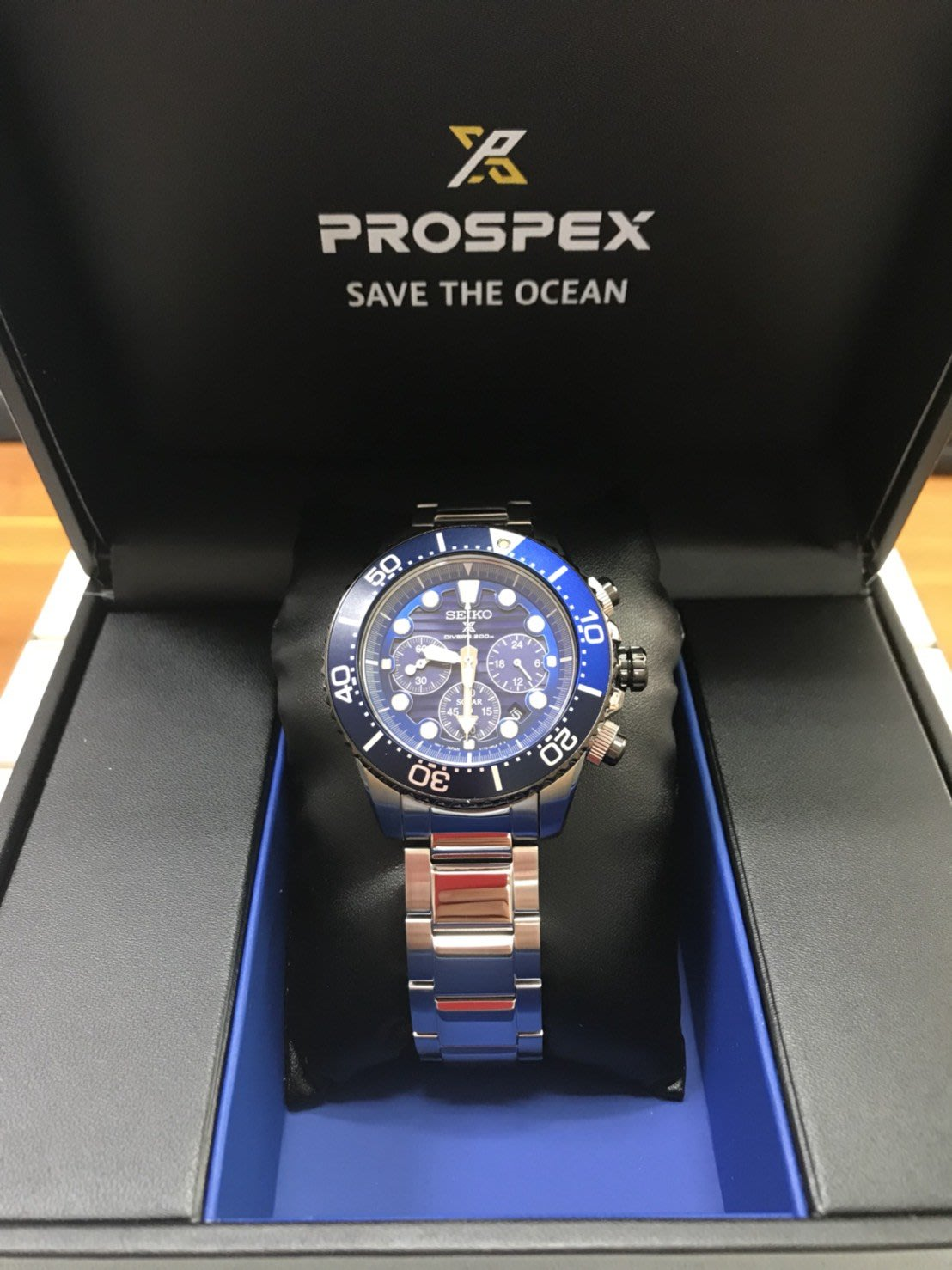 SEIKO精工 PROSPEX SCUBA 潛水200米太陽能表新品上市V175-0AD0A
