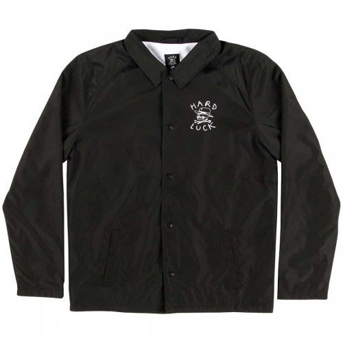 《Nightmare 》Hard Luck OG LOGO COACHES JACKET - BLACK