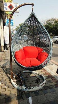 藤王 上骨藤製 水滴吊籃 搖椅 鞦韆椅