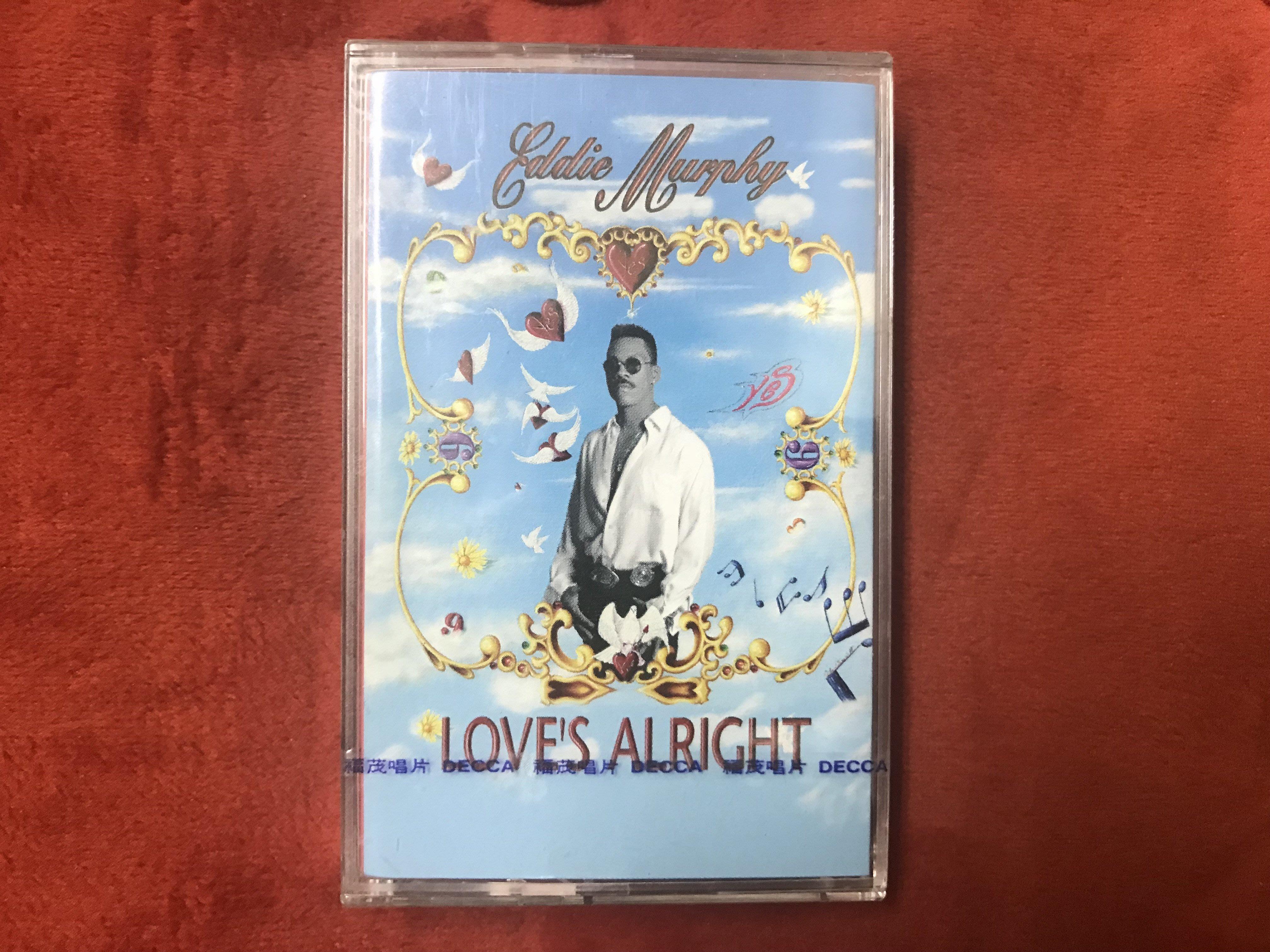 [錄音帶]艾迪墨菲 Eddie Murphy-愛情無罪 Love's Alright-全新未拆