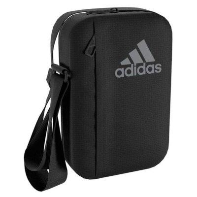 {潮鞋瘋}ADIDAS 3S PER ORG 黑灰 黑 小包 隨身包 側背包 隨身包 腰包 AJ9988