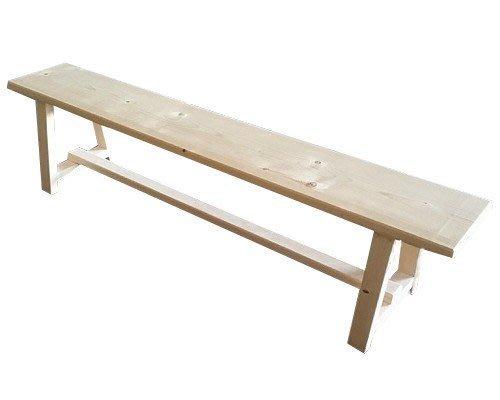【森林原木手工家具】原木長凳