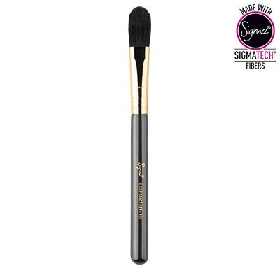【愛來客】☆美國Sigma官方授權經銷商☆F65 - LARGE CONCEALER GOLD專業化妝刷大號遮瑕刷高光刷