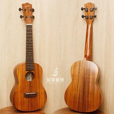 《弦琴藝致》免運 烏克麗麗 Millar TA-240 23吋 全亞洲相思木單板 平光