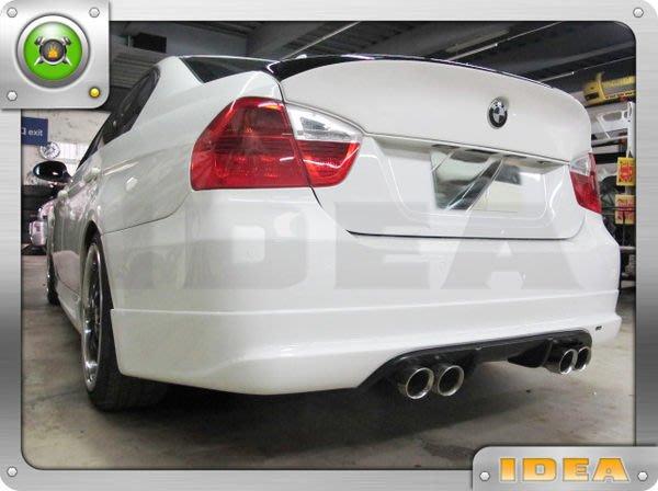 泰山美研社A1906 BMW E90 05~ 08 類ac 款 pu 四件包圍前中包+後中包+側群
