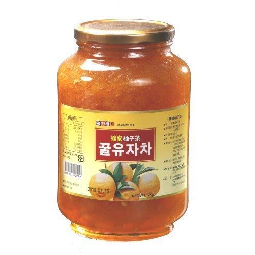 高麗購◎正友韓國蜂蜜柚子茶2公斤營業用1箱/整箱買一箱6瓶2100元\平均350