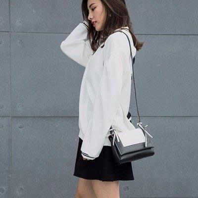 肩背 包 撞色 側背 包-時尚優雅小方包韓版女包包5色73sb15[獨家進口][巴黎精品]