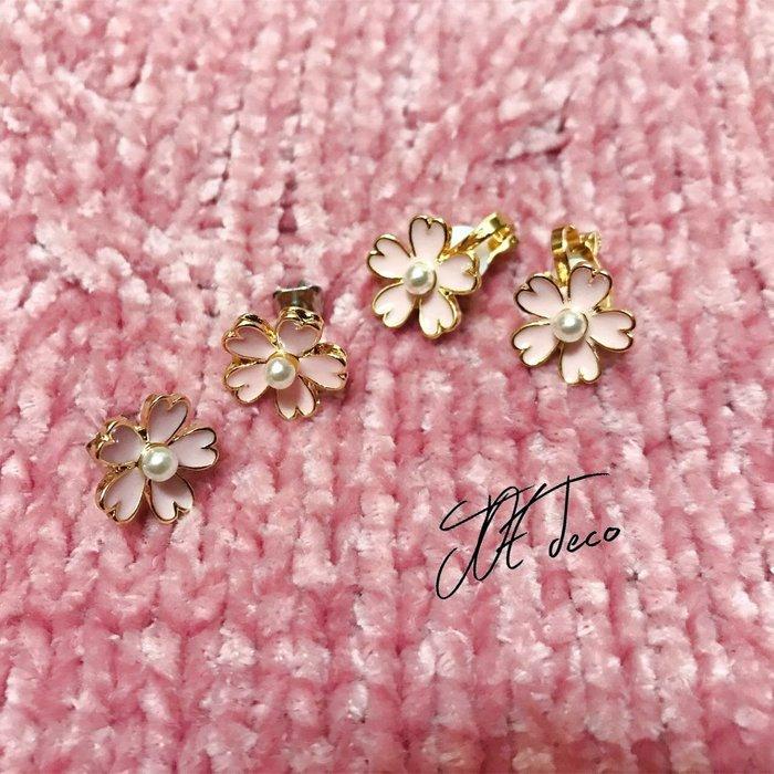 JOE deco🌸櫻花耳環