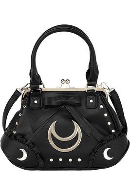 【丹】KS_Diana Handbag 黑色 月亮 大月亮 手提包 肩背包 側背包