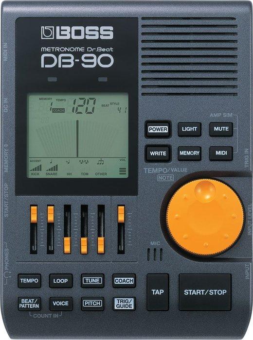 ☆唐尼樂器︵☆ Roland BOSS DB-90 爵士鼓 電子 節拍器