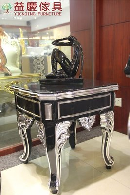 【大熊傢俱】820 新古典 茶几 後現代 小茶几 邊桌 客廳茶几 邊几  小方桌 角几 電話几