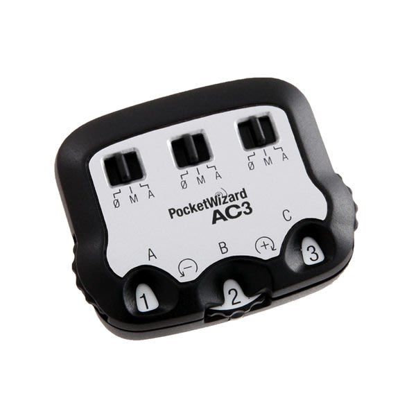 呈現攝影-美國 普威 Pocket Wizard AC3 控制器 NIKON 專用 TT1/TT5專用配件 SB-910 公司貨