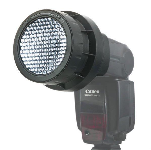 呈現攝影-JJC 三合一蜂巢罩 閃光燈 蜂巢聚光 外閃專用 可16/25/45度 SB900 SB910 似LF-4005
