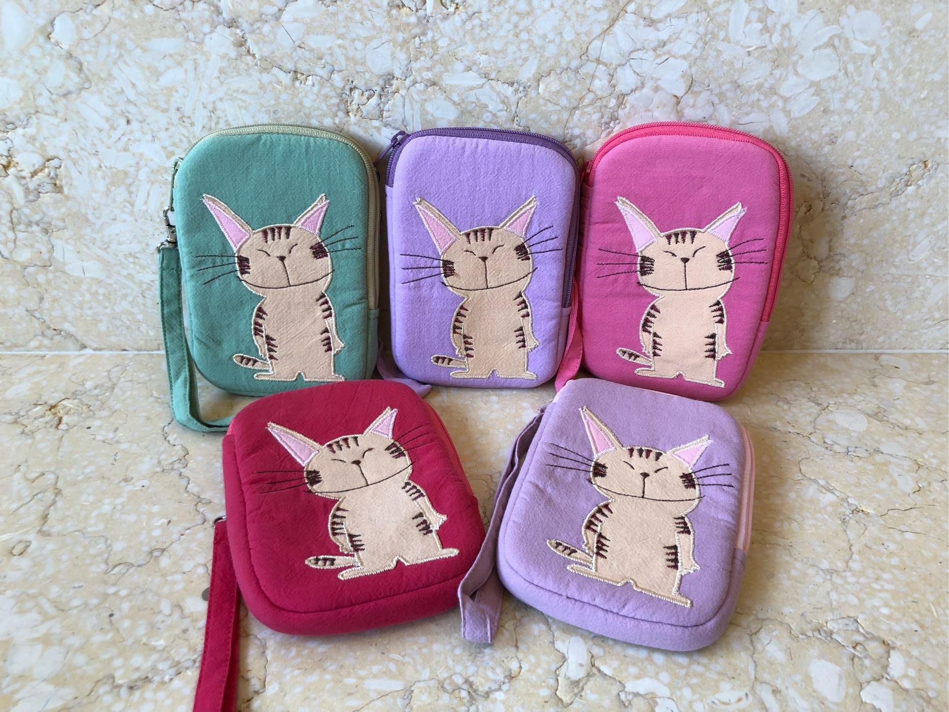 日本卡拉貓~貓老大鋪棉防水收納包