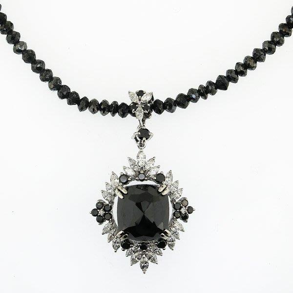 【JHT金宏總珠寶/GIA鑽石專賣】天然鑽石墜鍊-D:7.67ct/SD:1.24ct (JB34-A10)