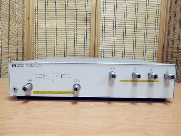 康榮科技二手儀器領導廠商HP 87511B S-Parameter Test Set, 100 kHz-500 MHz