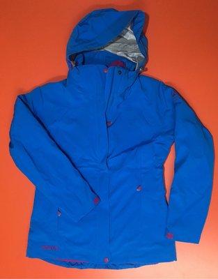 歐都納 女款 七頂峰紀念款 戶外登山外套 防水外套 內裏保暖纎維外套 兩件式外套 尺寸:M號