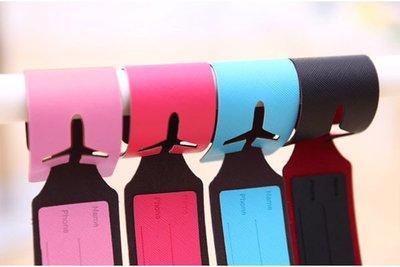 ♫藍藍的天♫ 【Y2d7005】馬卡龍行李吊牌行李箱吊牌旅行箱掛牌吊牌卡吊