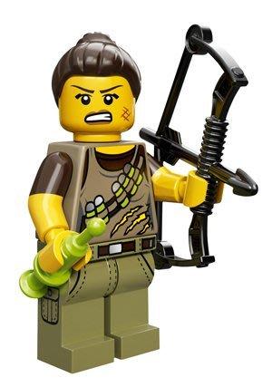 現貨【LEGO 樂高】積木/ Minifigures人偶系列: 12代人偶包抽抽樂 71007 | 恐龍 獵人