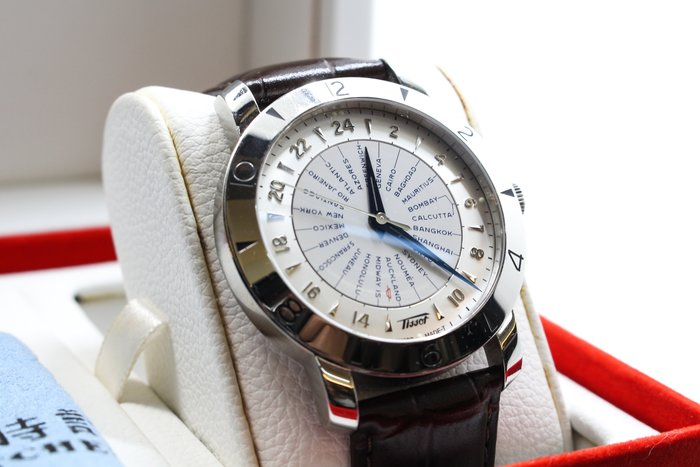 【高雄青蘋果3C】TISSOT Heritage Navigator 領航者160週年紀念 機械腕錶 #22804