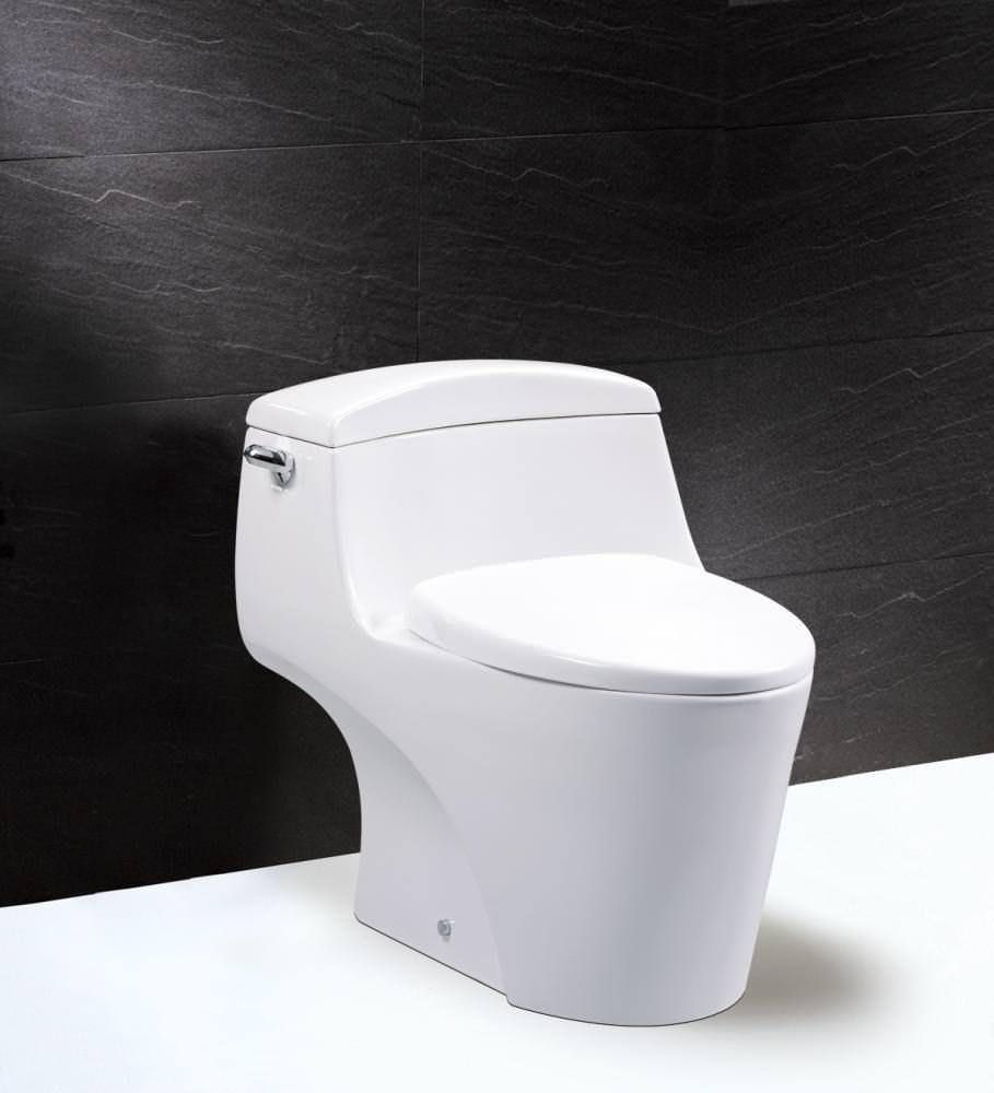 ※三重凱撒衛浴專賣※ Caesar 單體馬桶 C1353 排水管距30公分 [免運費]