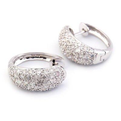 【JHT金宏總珠寶/GIA鑽石專賣】1.80ct天然鑽石耳環/材質:18K(D000100)