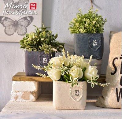 廠家多肉花盆陶瓷水泥粗陶創意手工個性簡約歐式原創品牌