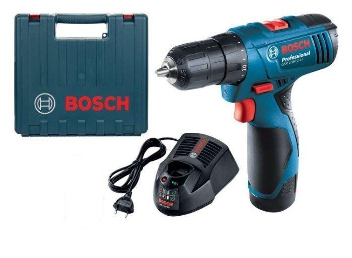金光興修繕屋(萊墊自取XX8X)電池版*Bosch 德國 GSR120-Li 12V 鋰電電鑽/起子機GSR1080