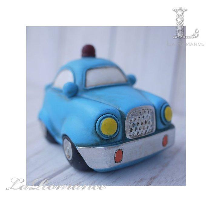 【COCORO 童趣物語特惠系列】 藍色警車存錢筒 / 撲滿 / 小孩、兒童房