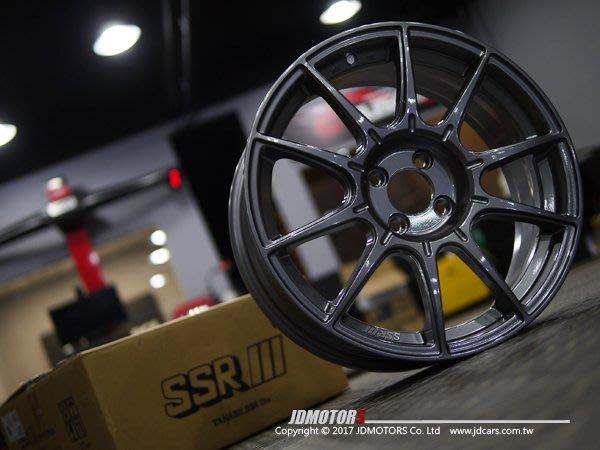 JD-MOTORS 日本原裝進口 SSR GTX01 15 /16 /17 /18 /19吋 旋壓輪圈 兩色 CITY