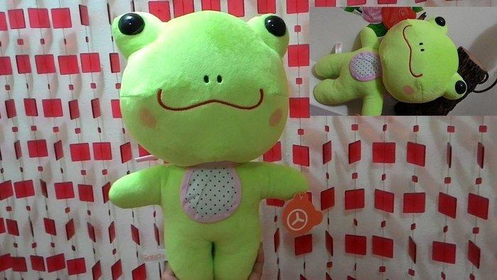 青蛙 大青蛙 青蛙娃娃 青蛙抱枕~招財~居家送禮~小朋友 ~