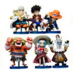 【紫色風鈴3】海賊王WCF系列109代6款航海日誌篇袋裝模型 港版