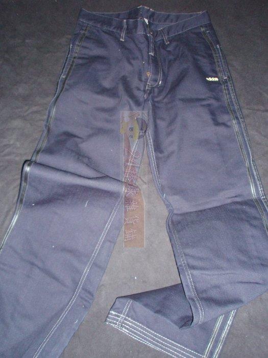 貳拾肆棒球--日本帶回adidas 經典休閒長褲/L