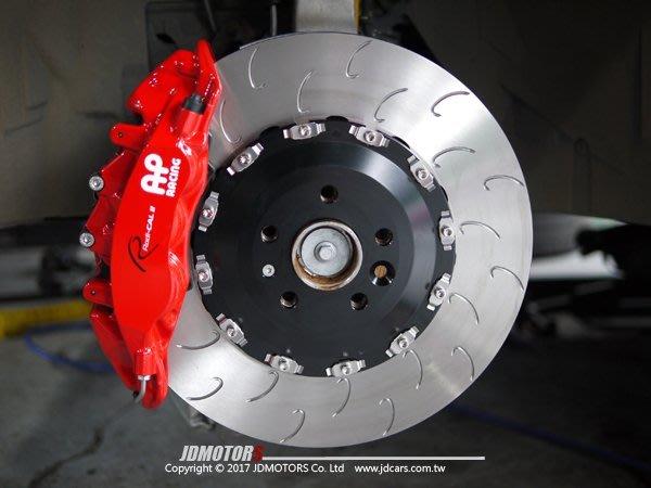JD-MOTORS AP Racing 9560 六活塞 AP外盤 390mm全浮動碟盤組 VOLVO XC90