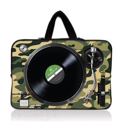 HeadphoneDog時尚唱盤筆電袋...