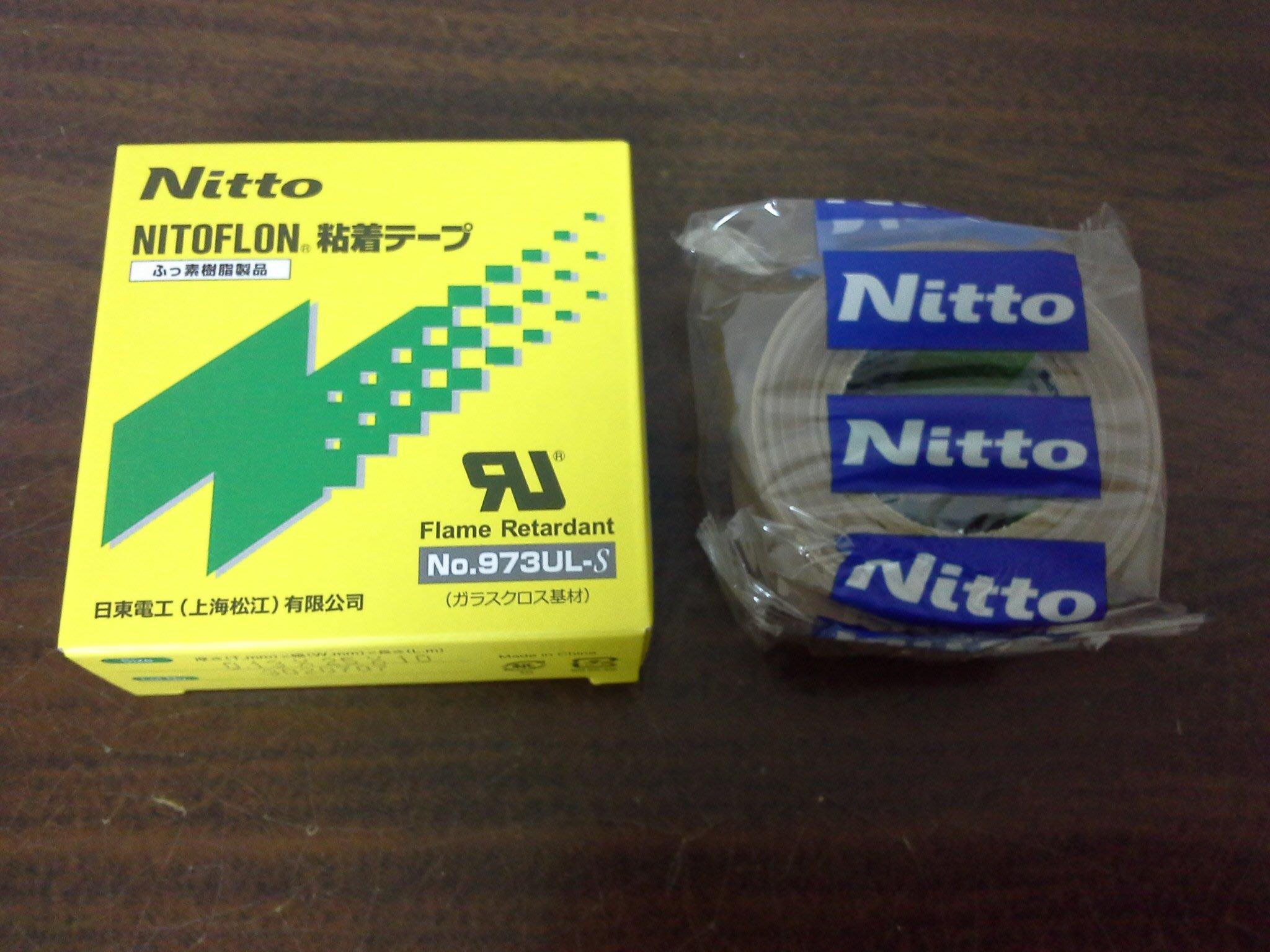 阿成的店日東電工NITOFLON鐵氟龍膠帶滑鼠貼No.973UL-S 0.13mm*25mm*10M