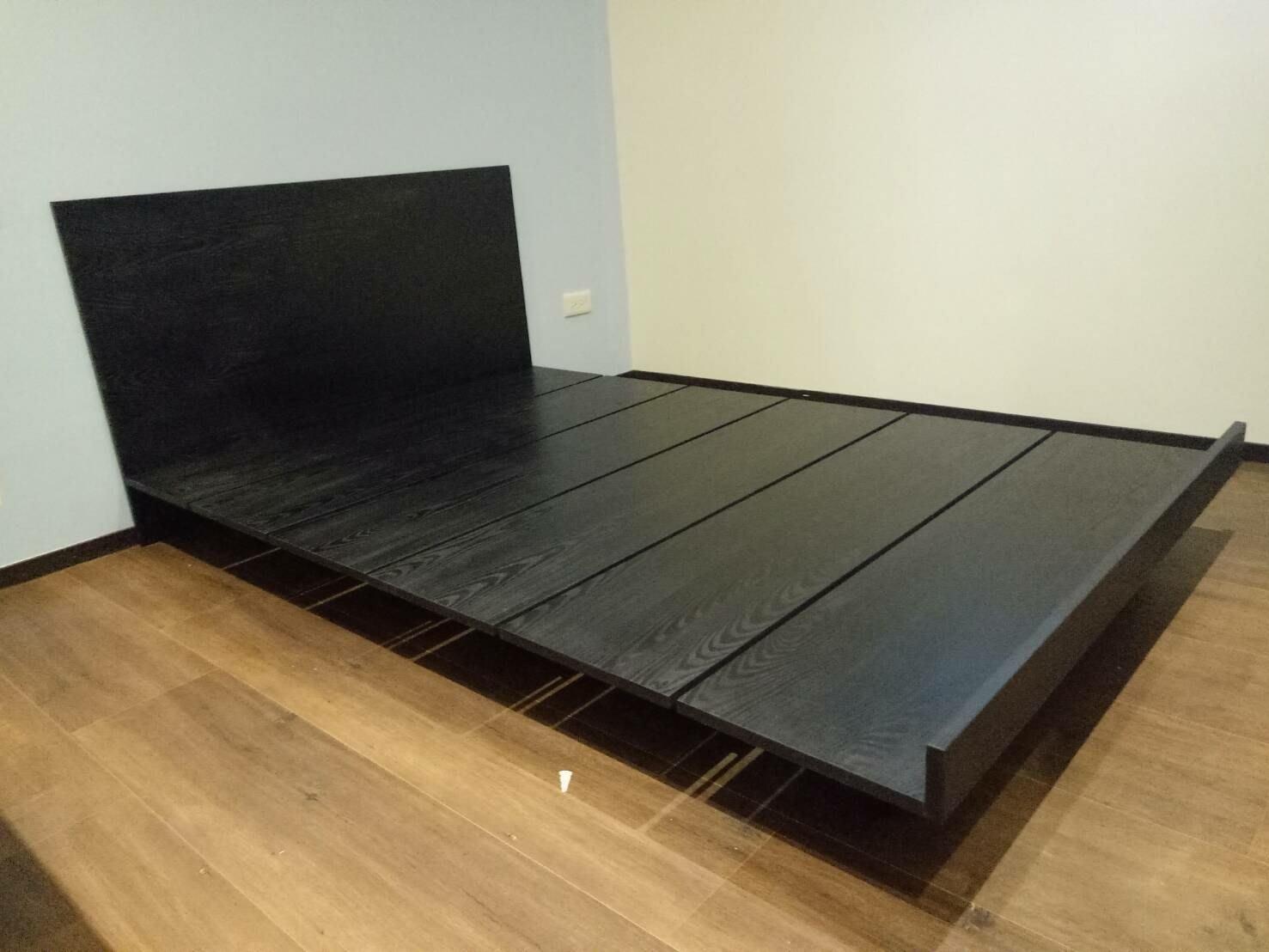 HODERN 工業風&北歐風床組新選擇,鐵道床/棧板床,使用實木貼皮板染色,兼顧設計感&價格實惠,高CP值請鑑賞~
