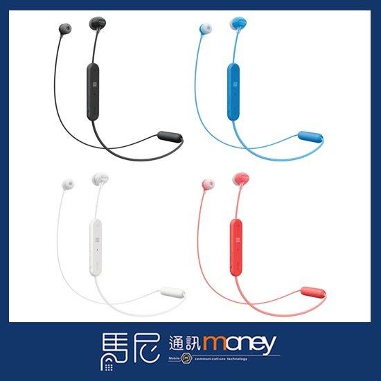 原廠藍芽耳機 SONY WI-C300 無線入耳式藍芽耳機/可通話/頸掛式/耳塞式/NFC功能【馬尼行動通訊】台南