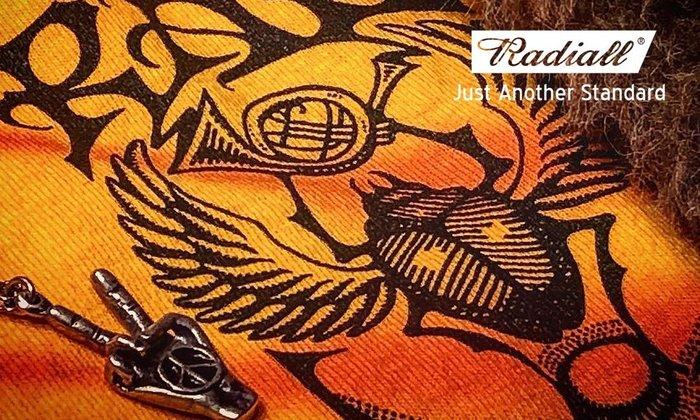 GOODFORIT / 日本品牌Radiall COSMIC CHARLIE復古手工紮染品牌標誌聖甲蟲上衣/兩色