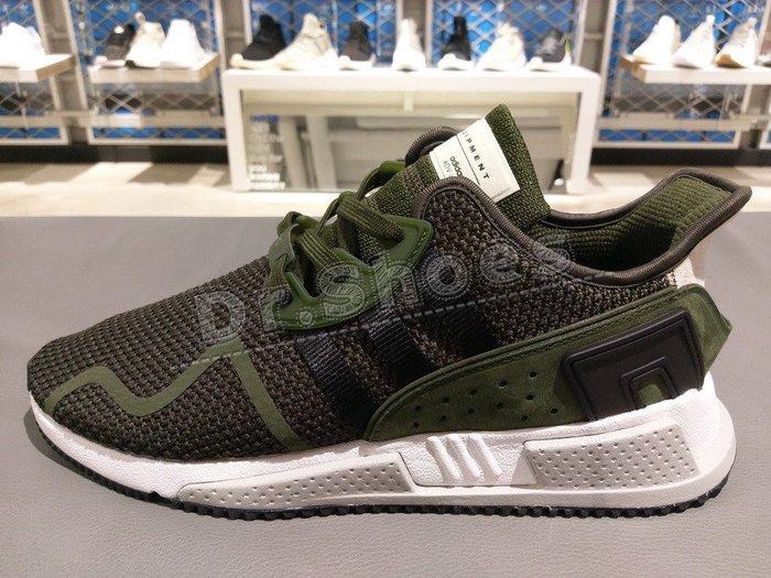 【Dr.Shoes 】Adidas EQT Cushion ADV 男鞋 軍綠 墨綠 白灰底 慢跑 休閒鞋 AQ0960