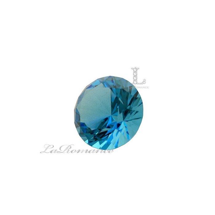【芮洛蔓 La Romance】 璀璨鑽型水晶鑽 – 3 cm / 招財 / 聚財 / 幸運色